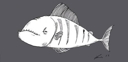 Uglyfish5 by Tusenkunst