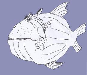 Uglyfish8 by Tusenkunst