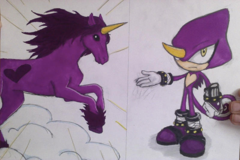 Espio The Love Unicorn by Morionem