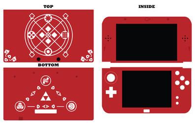 New Nintendo 3DS XL - Zelda Oracle of Seasons Case