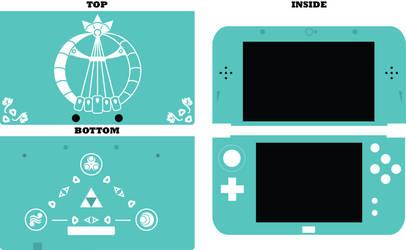 New Nintendo 3DS XL - Zelda Oracle of Ages CaseALT