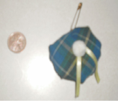Nova Scotia Tartan Hat Pin by wave3girl
