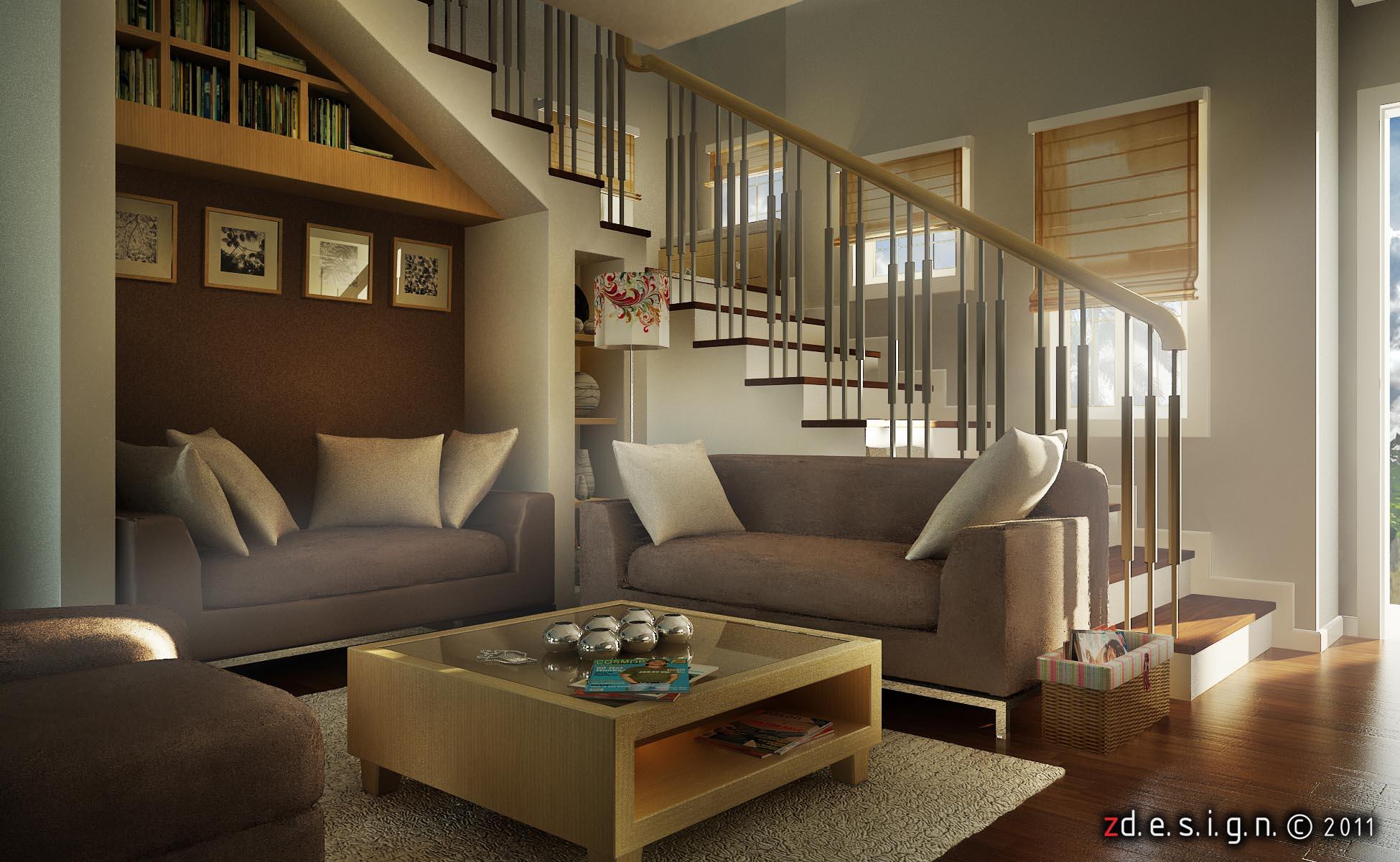 living room accent wall - zernan suarez portfolio