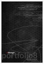 ZDESIGN PORTFOLIO 8 Page 01 by zernansuarezdesign