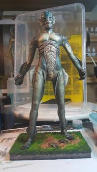 Shape of Water . . . GILLMAN | Amphibian man