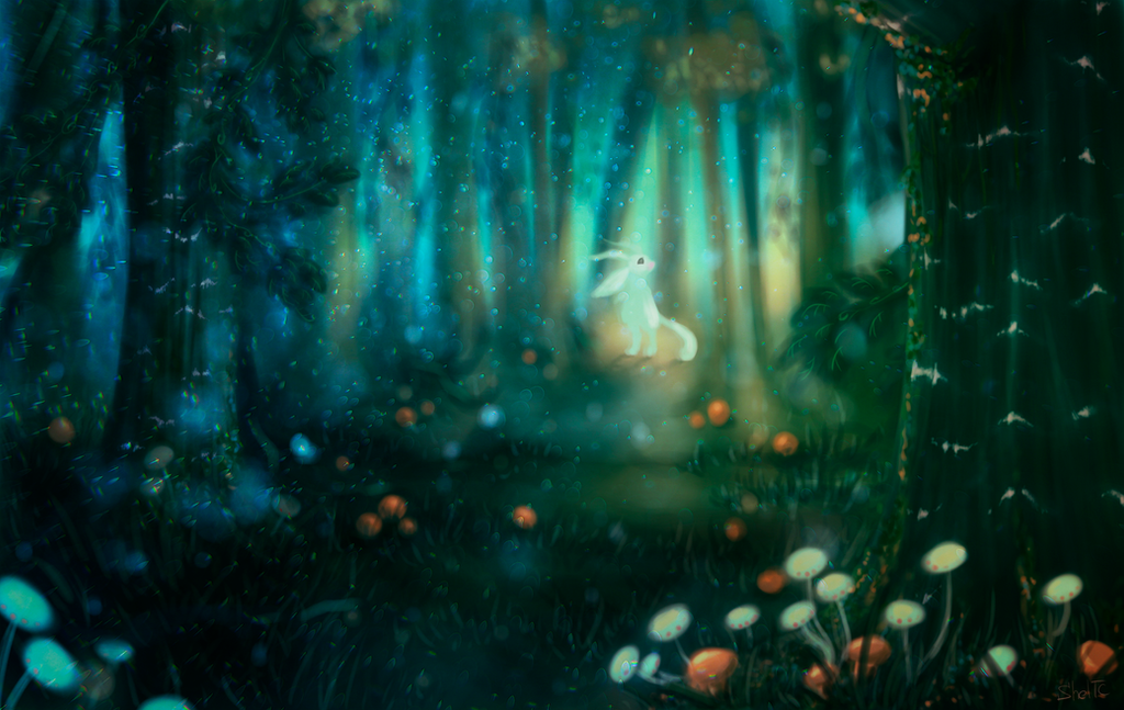 Ori and the Blind Forest by Xapy