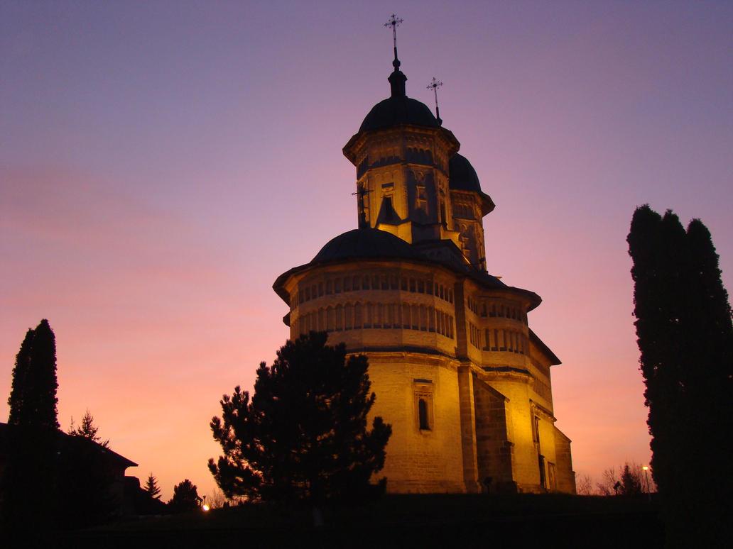 Cetatuia Monastery, Iasi by blueionis