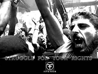 Struggle for your rights 54 de by tozkera