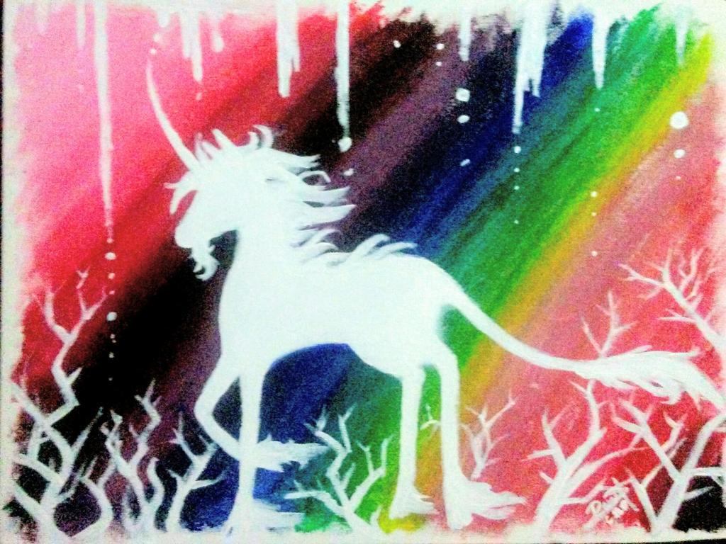 Wandering Unicorn by shadowwings8810