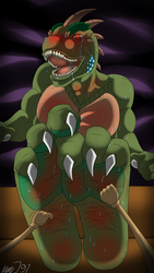 Interrogating Reptile by KenJ91