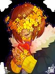 Flowerfell AU - Frisk