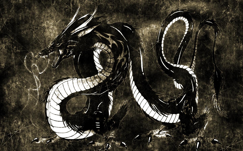 Dragon wallpaper by Kou-Ryuu