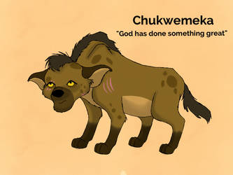 Chukwemeka by DrabbitDragonLord