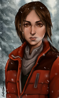 Rise of the Tomb Raider Lara Croft by dreNerd