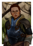 Scout Harding Dragon Age Inquisition