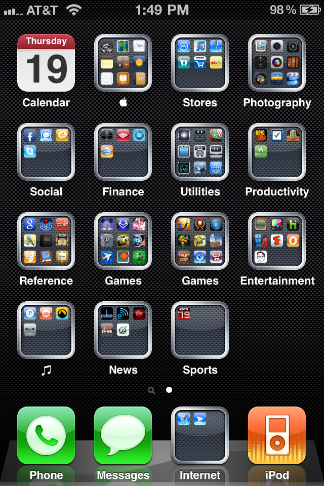 how to screenshot iphone 4 8 19 10 iphone 4 screenshot by tfalcao on deviantart 2371