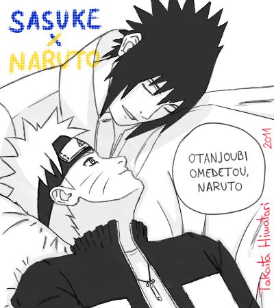 Otanjoubi omedetou Naruto 2011 by Takaita