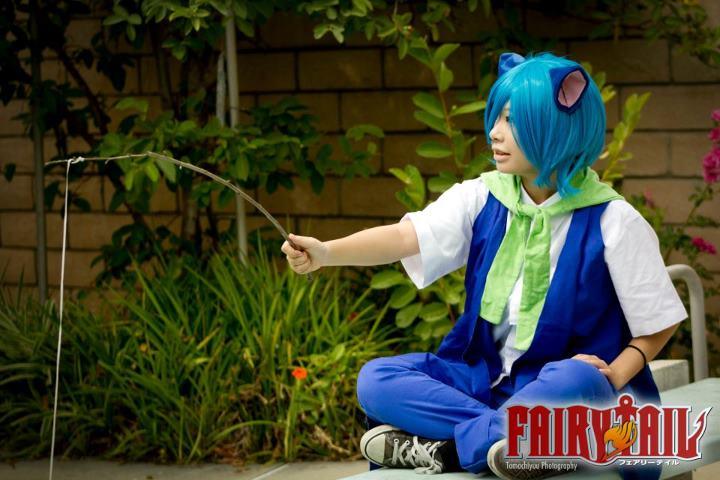 Happy Fish Fairy Tail Fairy Tail Happy Fishing by