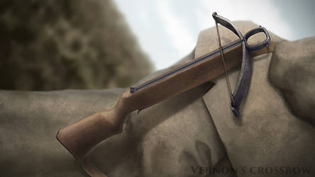 Project illustration: Vernon's Crossbow by MrG-Art