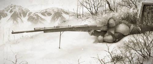 Dwarven Sniper by MrG-Art