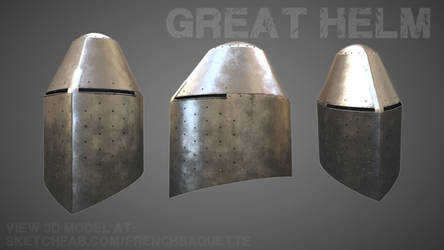 Great Helm by MrG-Art