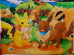 Pokemon Mystery Dungeon: Eevee and Pikachu