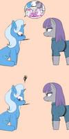 Maud pie and Trixie