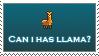 May I Have A Llama? by Davenx3