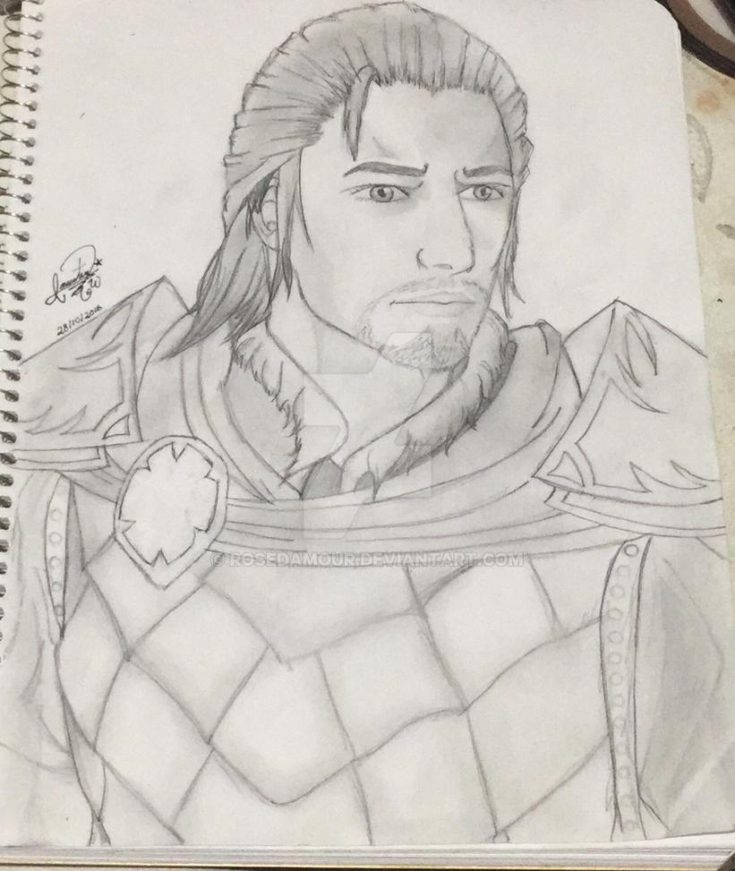 Draw: Alboino El Lombardo by RoseDAmour