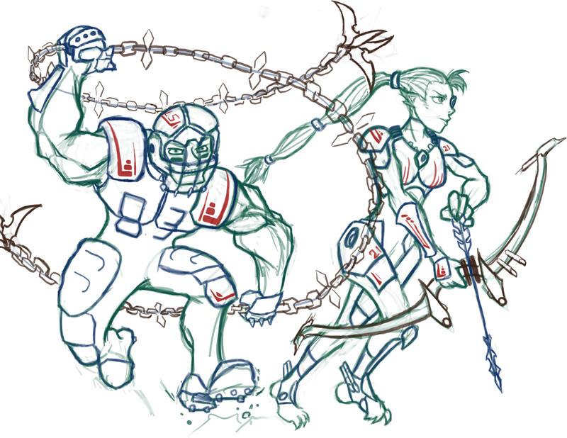 Martial iconics