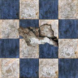 Broken Tiles Seamless Texture