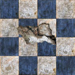 Broken Tiles Seamless Texture