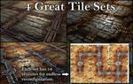4 Frame Tile Sets