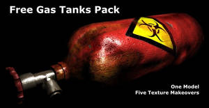 Gas Tank Model and Textures
