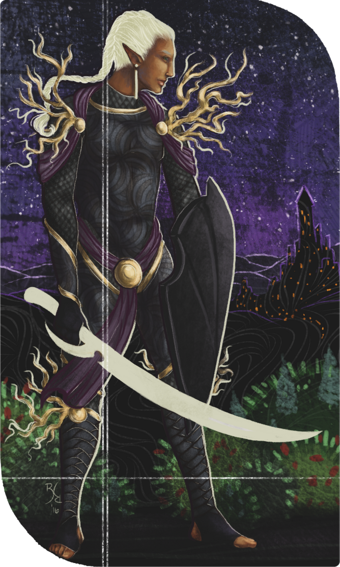 Shartan | Dragon Age Tarot by KuraNova
