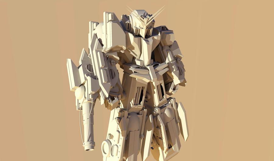 Mobile Armor Grx Rajawali by Dulodilz