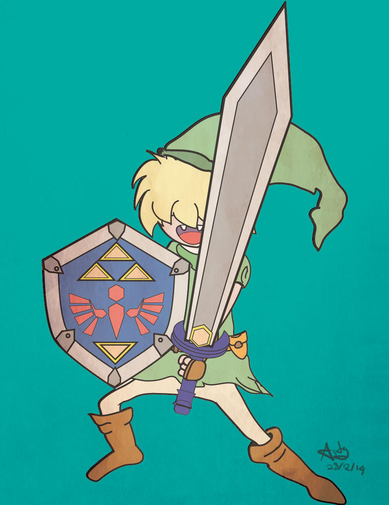 Link - hairy face! by Dulodilz