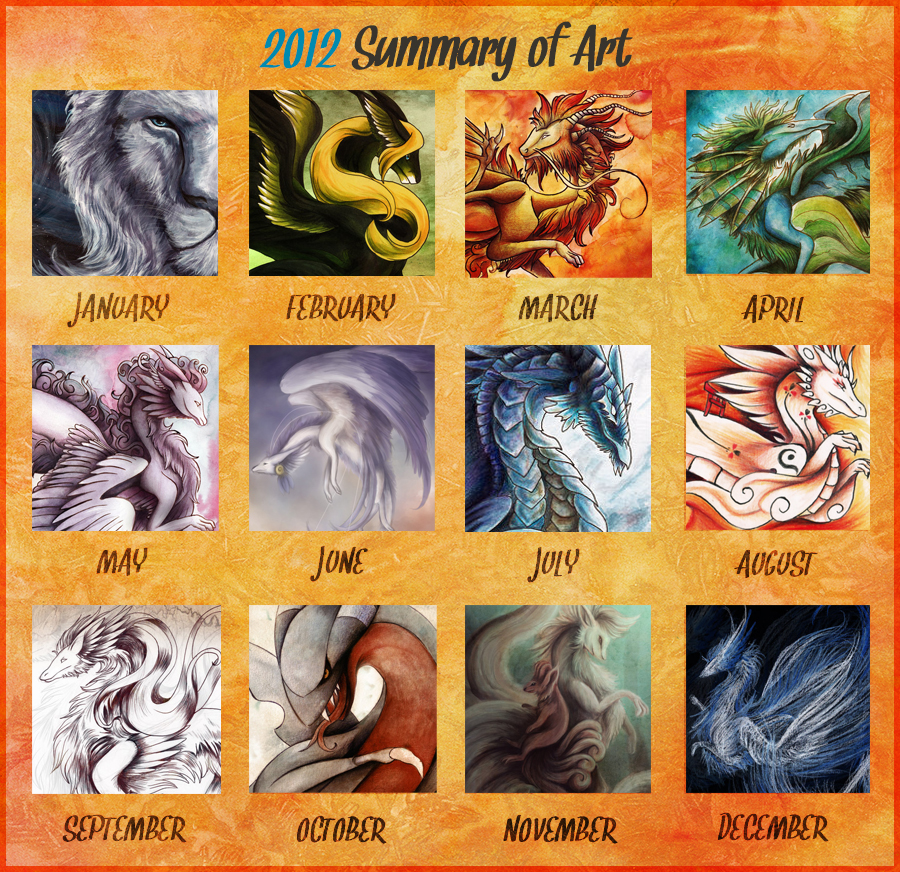 Art summary 2012 by Lyswen