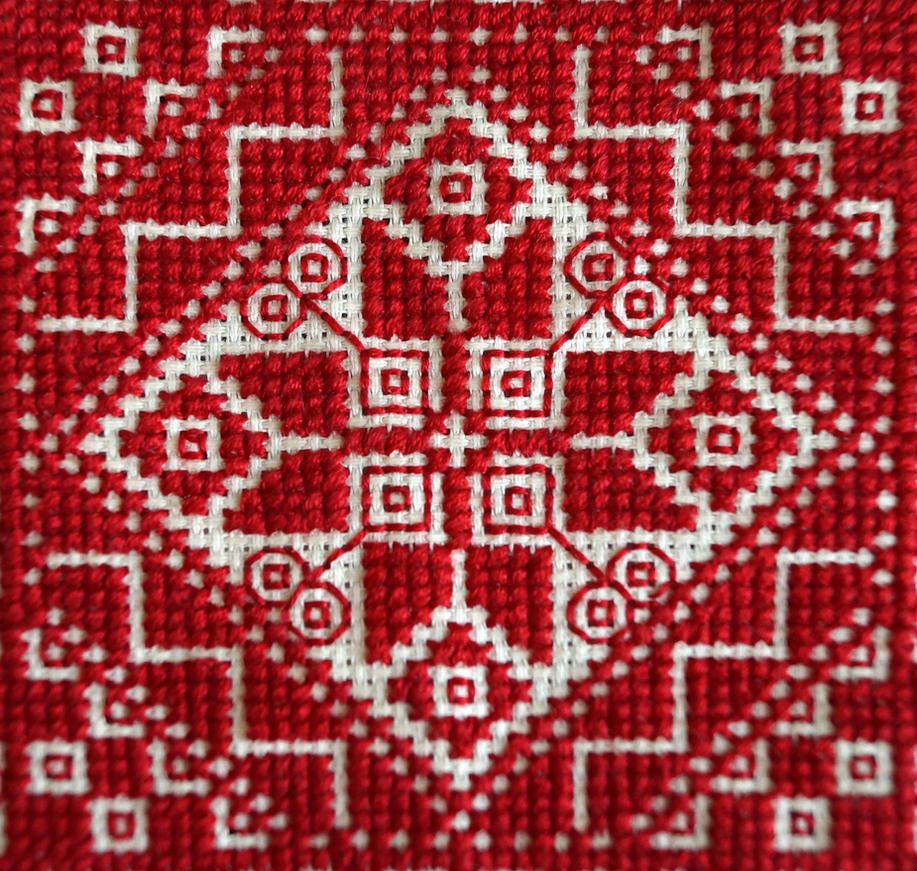 Cross stitch by al-archery