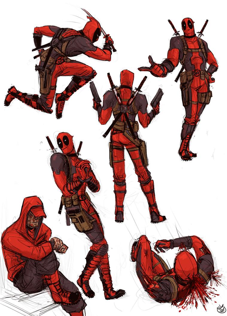 Deadpool by Sealinne
