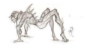 Infested by bonerhole