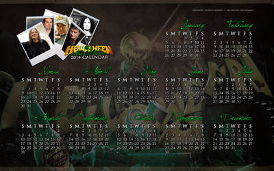 Helloween Now and Forever 2014 Calendar