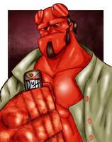 Hellboy by Danger-Jazz