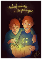 Oh, give it up for Fred and George!