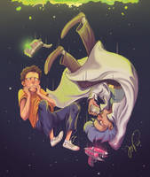 Rick and Morty by Danger-Jazz