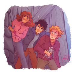 Harry, Ron and Hermione 1/6