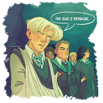 Slytherin in the Boggart class 2/6