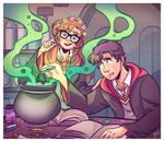Commission - Potion's Class