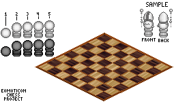 Emoticon Chess Project by LeoLeonardo