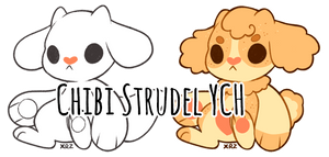 Chibi Strudel YCH | Closed